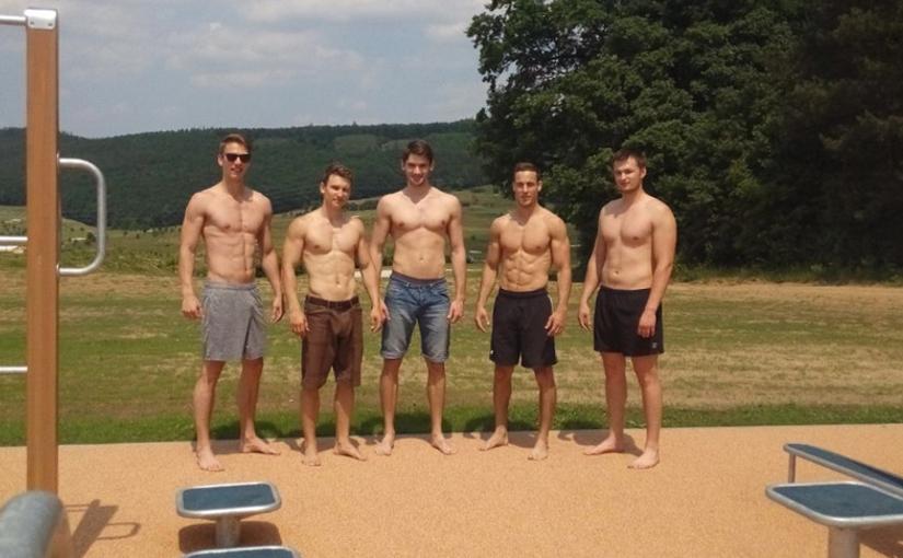 Workoutový park na Kaskádě