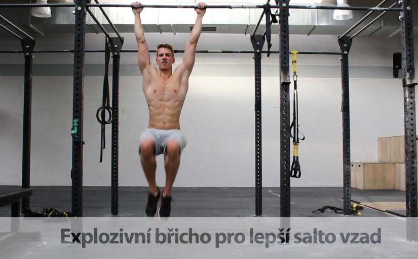 Explozivní břicho pro lepší salto vzad